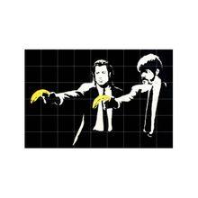 Pulp Fiction Banksy Bild