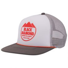 Black Diamond - Flat Bill Trucker Hat - Cap Gr One Size schwarz