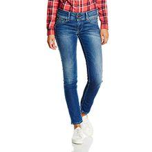 Pepe Jeans Damen Ladies Edition Pant Jeans, Blau (Denim Bleu), W30/L34 (Herstellergröße: 30)