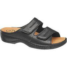 Weite G: normale Füße mit durchschnittlicher Breite Weite H: für etwas kräftigere, volle Füße Weite K: für breite Füße mit besonderen Ansprüchen Die Pantolette der Marke Medicus erfüllt in Sachen Funktionalität und Komfort höchste Ansprüche. So setzt sie mithilfe seines herausnehmbaren Fußbetts auf Bequemlichkeit, welche durch einen weichen Innenmaterial-Mix aus Leder und Textil ergänzt wird. Zusätzlich zu den komfortablen Eigenschaften hält der angenehm tragbare Schuh ein aus hochwertigem Leder bestehendes Obermaterial bereit, welches sich klassisch in den Farben Schwarz und Braun präsentiert.