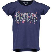 Blue Seven Rundhals T-Shirt - Blumen