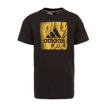 ADIDAS PERFORMANCE Trainingsshirt 'Must Haves Box' gelb / schwarz