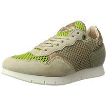 nobrand Damen Equinox Sneaker, Beige (Beige Mesh), 38 EU
