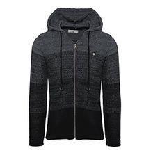 Carisma Herren - Strickjacke 7397 Streetwear Menswear Autumn/Winter Knit Knitwear Sweater Hoodie Jacket CRSM CARISMA Fashion