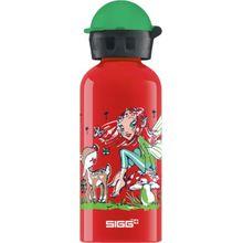 SIGG Alu-Trinkflasche Fairy World, 400 ml rot/grün