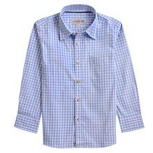 Almsach Trachtenhemd Didi für Kinder in Hellblau inklusive Volksfestfinder, Farbe:Hellblau, Größe:128/134