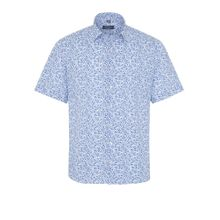 ETERNA Hemd blau / weiß