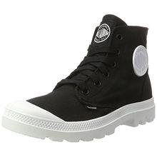 Palladium Unisex-Erwachsene Blanc Hi Sneaker, Schwarz (Black/White/White), 44 EU