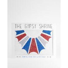 The Gypsy Shrine – Halloween Clown – Body-Sticker-Mehrfarbig
