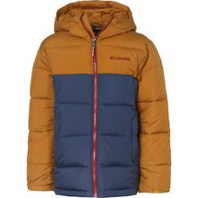 COLUMBIA Winterjacke 'PIKE LAKE' blau / braun