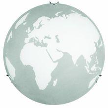 Brilliant Earth Wand- und Deckenleuchte, 2x E27 max. 60W, weiß/grau 94088/70
