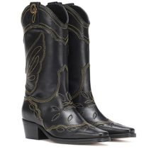 Cowboy-Stiefel High Texas aus Leder