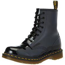 Dr. Martens Damen 1460 Patent-11821011 Boots, Schwarz, 39 EU (6 Damen UK)