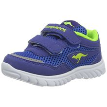 KangaROOS Unisex-Kinder Inlite 3003B Sneaker, Blau (Royal/Lime), 22 EU