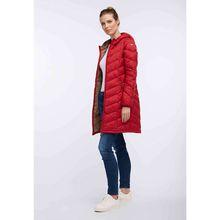 Dreimaster Mantel rot Damen