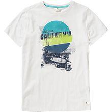T-Shirt BYKER  weiß Jungen Kinder