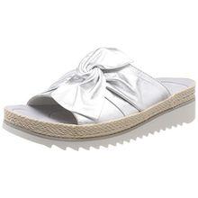 Gabor Shoes Damen Jollys Pantoletten, Mehrfarbig (Silber (Hellgrau)), 42 EU