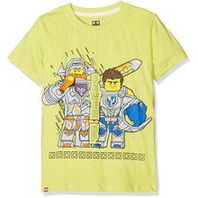 Lego Jungen T-Shirt M-71169, Gelb (Yellow), 6 Jahre(Herstellergröße:116)