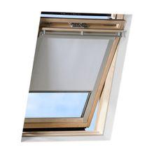 VICTORIA M Dachfensterrollo passend für Velux Dachfenster / verdunkelndes Rollo / GPU P06, weiss