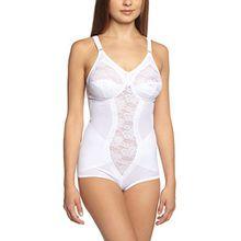 Sassa Damen BH Hosen-Korselett, Weiß, 100C (Herstellergröße:100C)
