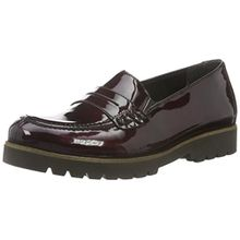 Remonte Damen D0101 Slipper, Rot (Bordeaux/35), 43 EU