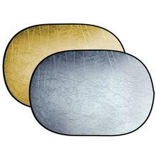 BRESSER Fotostudio »BR-TR5 Faltreflektor gold/silber 100x150cm«