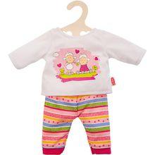 Pyjama Glücksschäfchen Gr. 28-35 cm, Puppenkleidung
