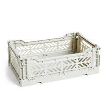 Hay - Colour Crate Korb S, 26,5 x 17 cm, hellgrau