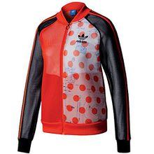 adidas Originals Osaka Damen Track Top Trainingsjacke BQ5750 Bold Orange Gr. 40