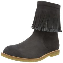 Bisgaard Tex Boot 60516216, Mädchen Schneestiefel, Schwarz (204 Black) 28