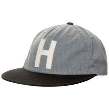 Herschel Harwood Strapback Caps grau