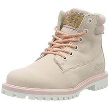 s.Oliver Mädchen 45109 Combat Boots, Pink (LT Pink 511), 35 EU