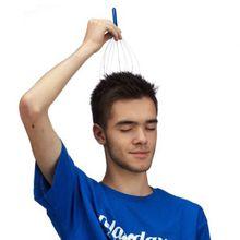 Kopfmassagegerät blau