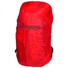 Bergans - Rain Cover - Regenhülle Gr L rot