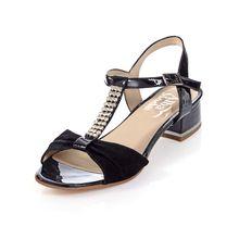 Alba Moda Klassische Sandalen schwarz Damen