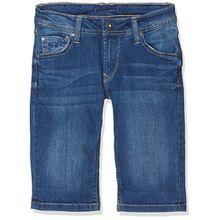 Pepe Jeans Jungen Shorts Becket Short, Blau (Denim), 8 Jahre (Herstellergröße: 8)