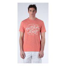Kaporal T-Shirt Pagan Rusmel mit Logo-Print T-Shirts orange Herren
