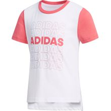 ADIDAS PERFORMANCE Shirt koralle / weiß