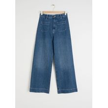Semi-Stretch Workwear Jeans - Blue