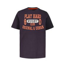 JP1880 T-Shirt bis 7XL, T-Shirt, Basic, XL Play Hard Statement, Rundhalsausschnitt, Halbarm
