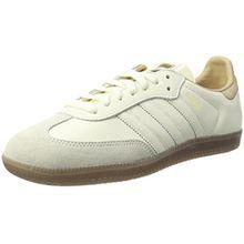 adidas Damen Samba Sneaker, Weiß (Off White/Off White/St Pale Nude), 38 2/3 EU