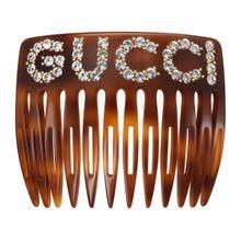 GucciHaarkamm mit Kristallen
