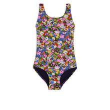 Floral Swimsuit - Blue