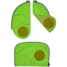 ergobag Zubehör cubo Sicherheitsset 3-teilig Grün