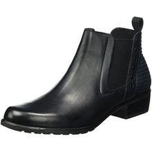 Caprice Damen 25322 Chelsea Boots, Blau (Ocean 803), 39 EU
