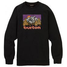 Burton - Weir Crew - Pullover Gr M;XL schwarz;türkis/schwarz