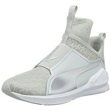Puma Damen Fierce Eng Mesh Hohe Sneakers, Grau (Gray Violet White), 38.5 EU