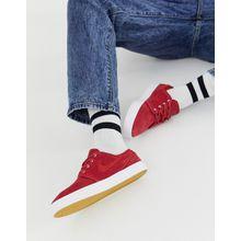 Nike SB - Zoom - Stefan Janoski -Rote Sneaker - Rot