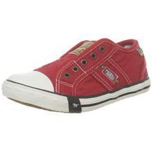 Mustang 5803-405-5, Unisex-Kinder Sneakers, Rot (5 rot), 34 EU