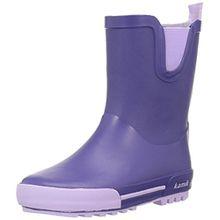 Kamik Unisex-Kinder Rainplay Gummistiefel, Violett (Purple/Violet), 33 EU